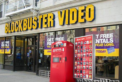 Redbox at Blockbuster