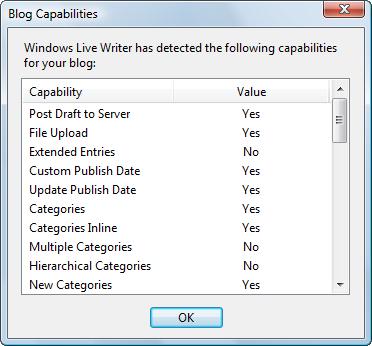 Blog Capabilities