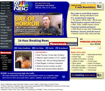 MSNBC on 9/11
