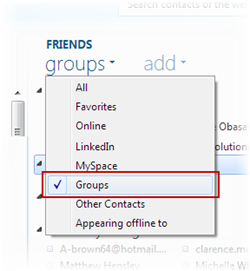 how to create a new group in messenger